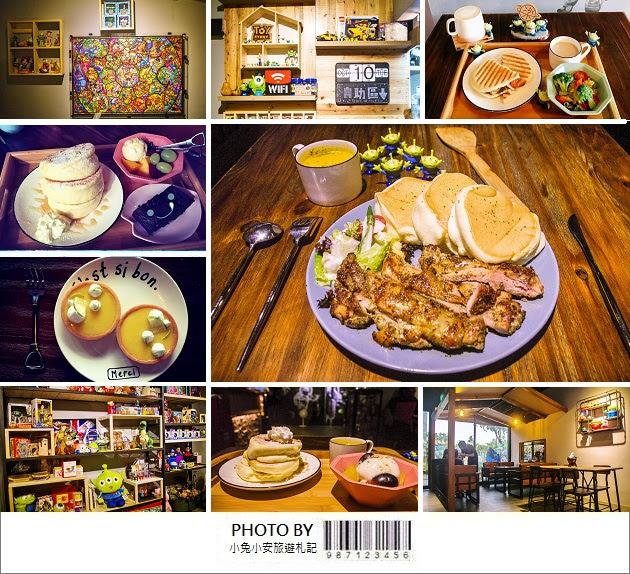 『高雄食記』楽+/ RAKU+美式工業風早午餐店,跟三眼怪一起吃飯趣~