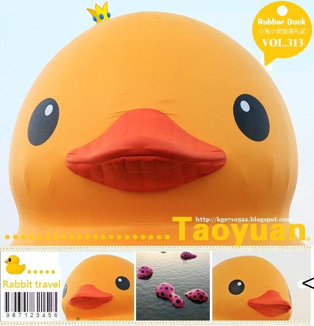 『黃色小鴨』桃園地景藝術節,黃色小鴨亮相中(高鐵接駁)