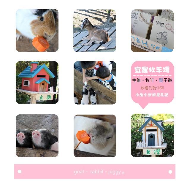 『宜蘭冬山』微笑的幸福小樂園,宜農牧羊場~