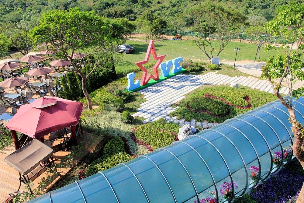 桃園新夜景餐廳 | 古山星辰景觀咖啡廳,北部最新賞夜景、看飛機、約會告白浪漫聖地~