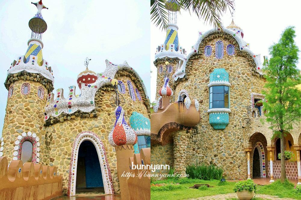 雲林景點 | 摩爾花園糖果屋,西班牙城堡花園繽紛風情餐廳,走進童話故事裡~