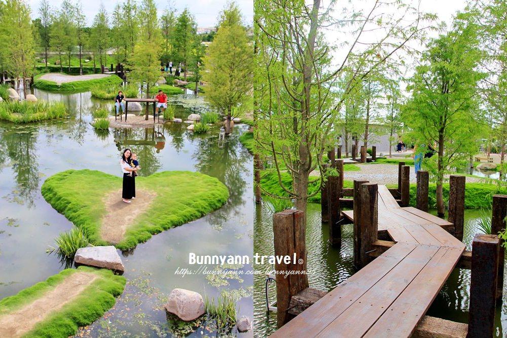 雲林新景點 | 走入明信片~澄香堂景觀餐廳,擁抱愛心綠色森林湖,最美時刻在此。