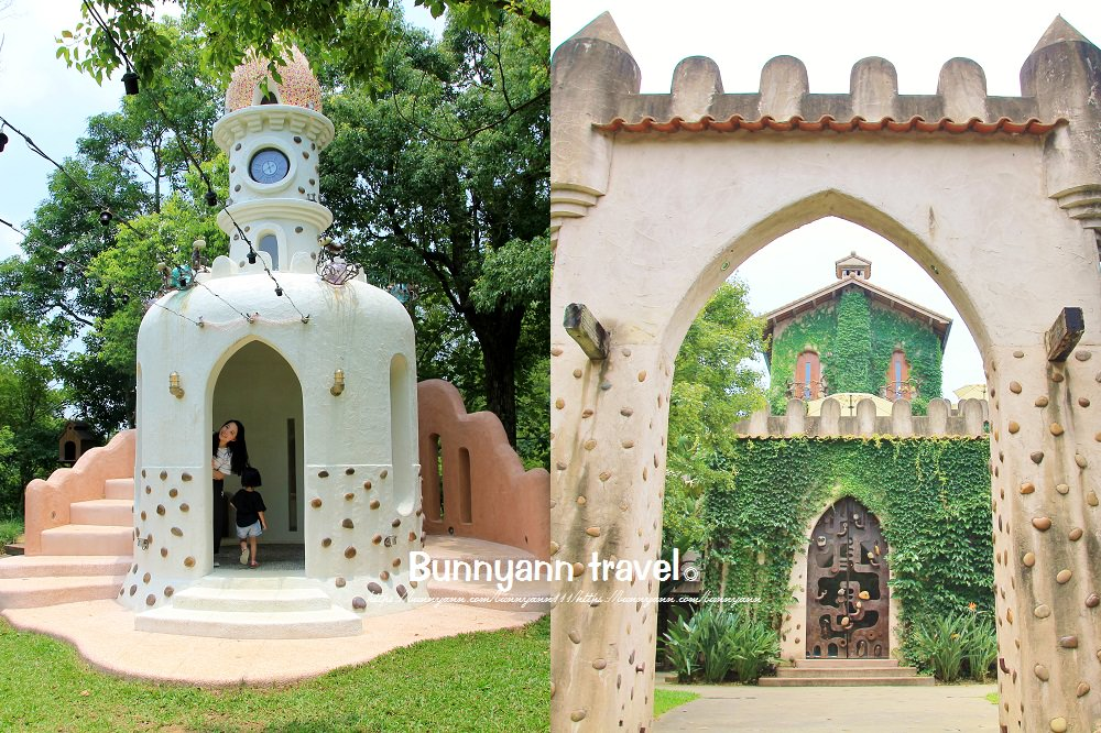 苗栗天空之城》長滿藤蔓綠境天空之城,可愛貓碉堡教堂、天堂古堡情侶必拍景點~