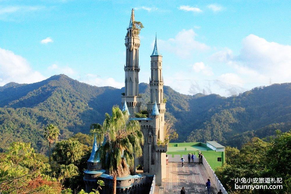 新竹景點》IG打卡台版迪士尼城堡!佛陀世界夢幻城堡登場~