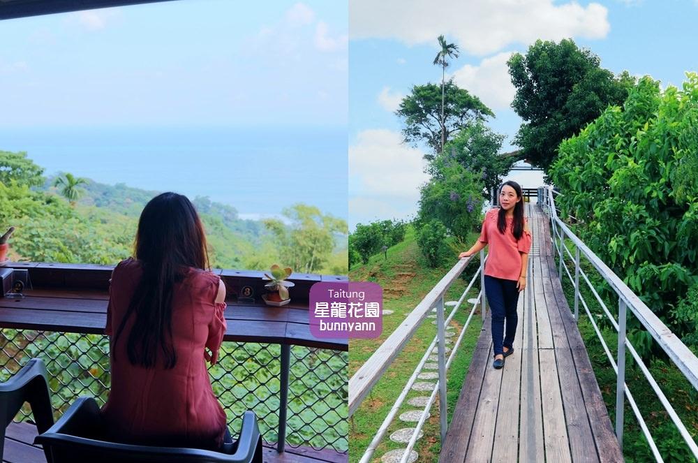 台東景點》看海秘境長濱星龍花園,180度無死角美麗海景,坐落山頂的空中花園~