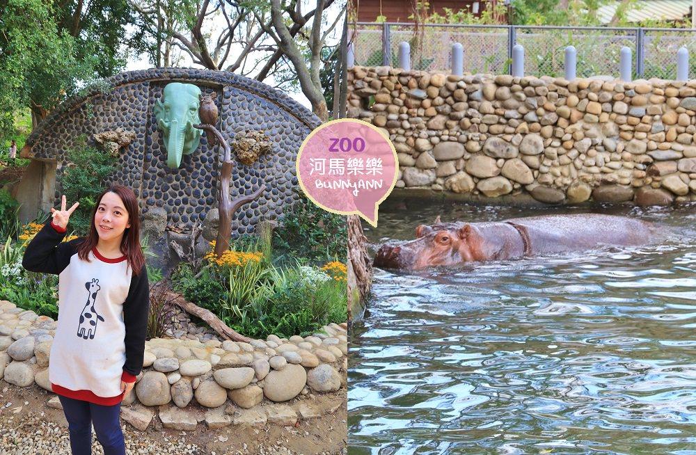 新竹新景點》新竹市立動物園,大嘴河馬樂樂來了,可愛動物明星齊聚一起!