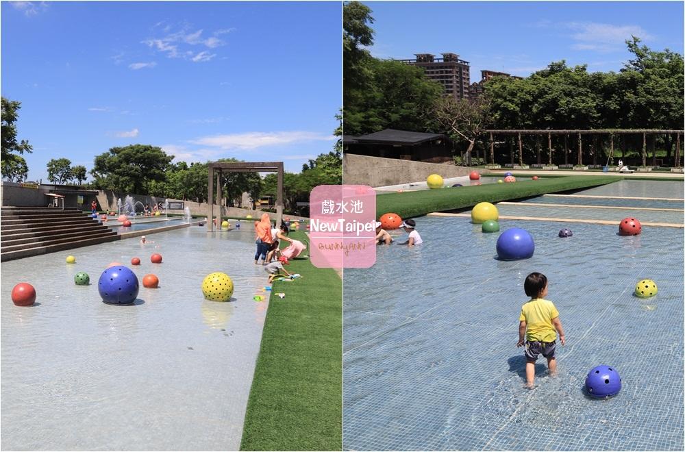 新北景點》鶯歌陶瓷博物館,水廣場免費玩水玩沙超消暑,親子遊戲室真有趣~