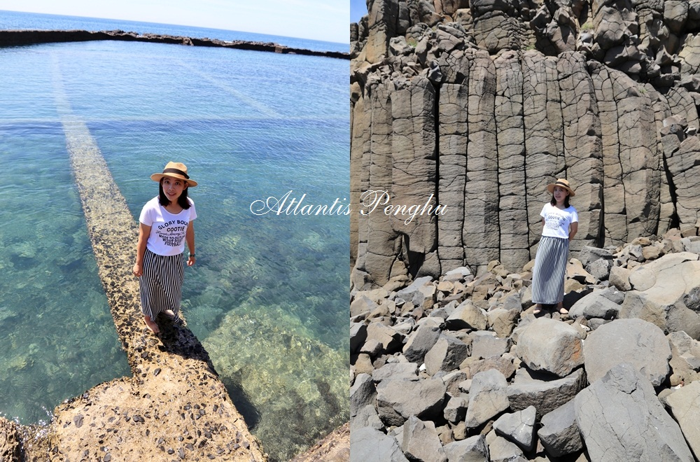 澎湖景點》唯美境界!通往海底世界通道池西岩瀑,夏日澎湖跳島行必踩景點!