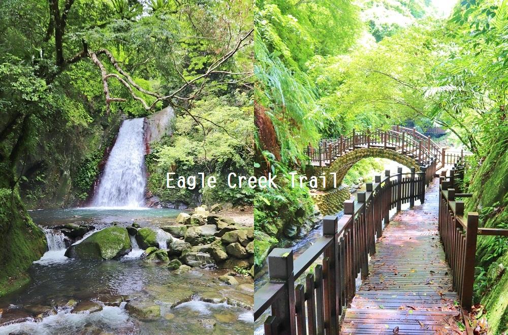 新竹》絕對秘境!尖石五星級老鷹溪步道,20分鐘賞山谷飛瀑,溪畔森林步道健走好愜意~