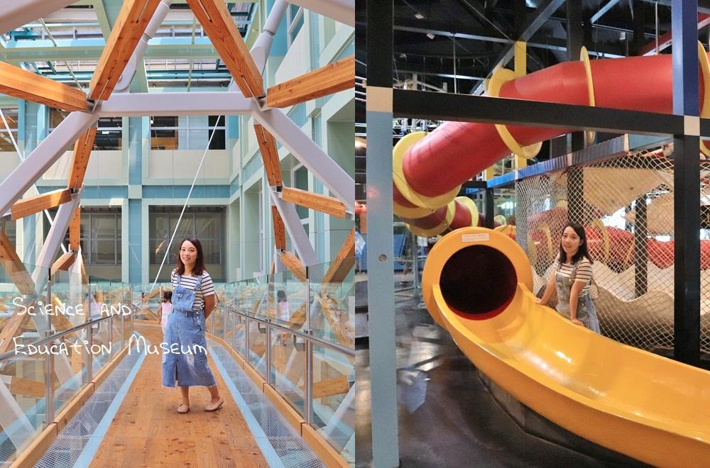 台北》玩拍天空步道!士林科教館親子半日遊,有趣親子設施,機械殿堂,吃喝玩樂通通有!
